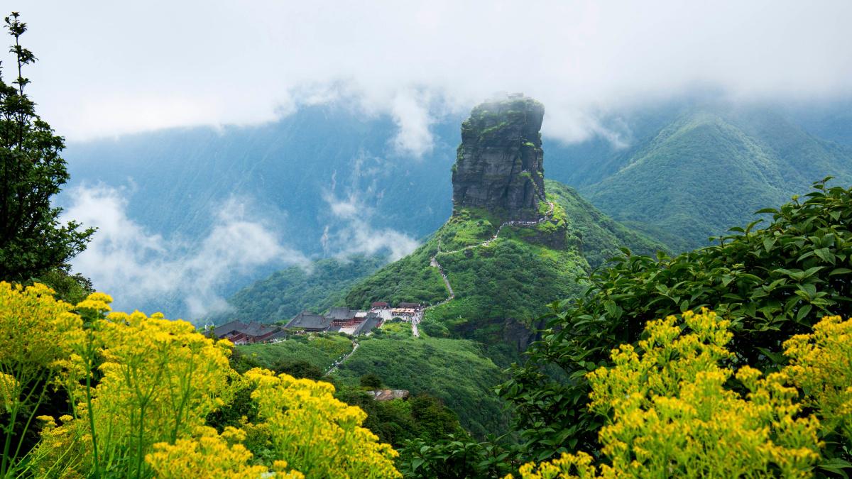 贵州梵净山列入世界遗产名录