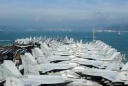 美媒:里根号航母访港是中美军事紧张缓和信号