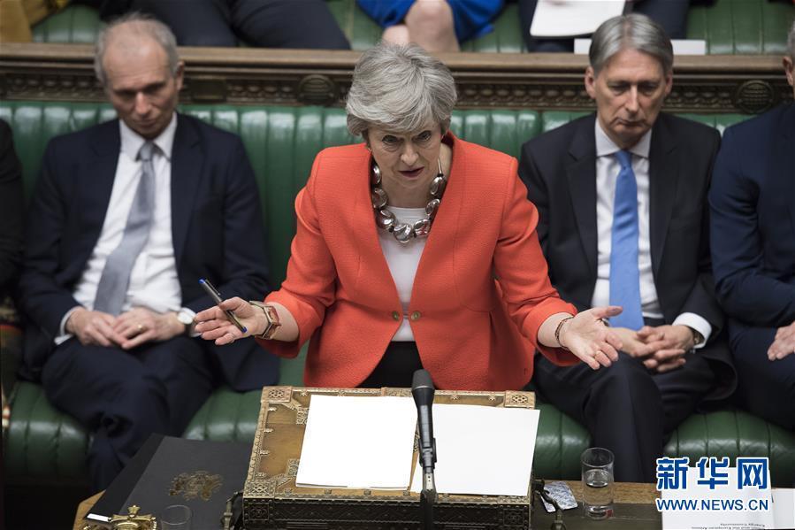 """(国际)(1)英国议会下院再次否决""""脱欧""""协议"""