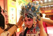 海外華裔青少年感受京劇魅力