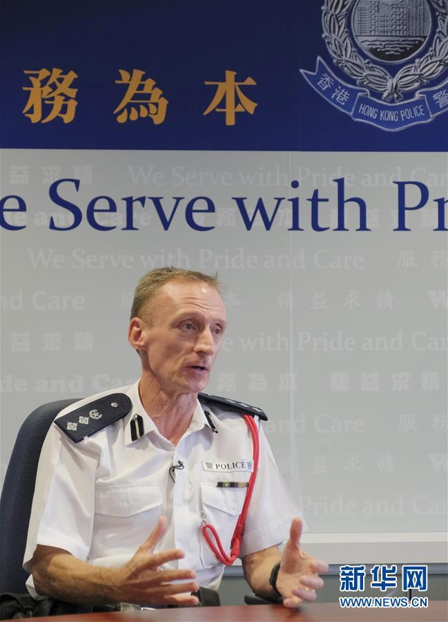 """(图文互动)(3)香港警察:""""为了维护法纪,受伤也值得!"""""""