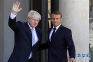 """法国总统:有可能在30天内找到避免英国""""硬脱欧""""的方案"""