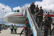 今年全军新老兵航空运输工作全面启动