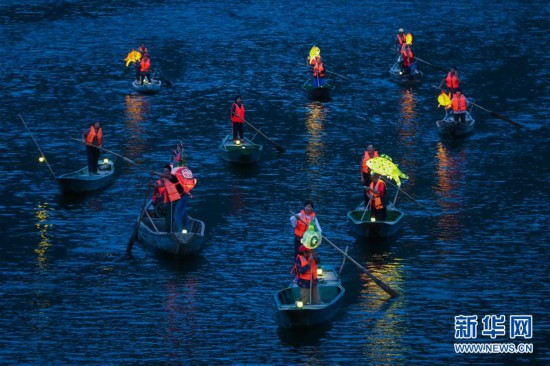 """(美丽中国)(7)""""渔舟唱晚""""助力特色乡村旅游"""