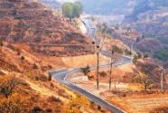 山西忻州原平市乡村公路:四好路 通幸福