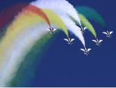 全国各地以多种形式致敬人民空军成立70周年