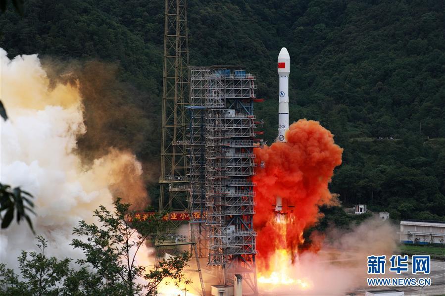 """(科技)(1)北斗三号最后一颗组网卫星""""重启""""发射成功"""