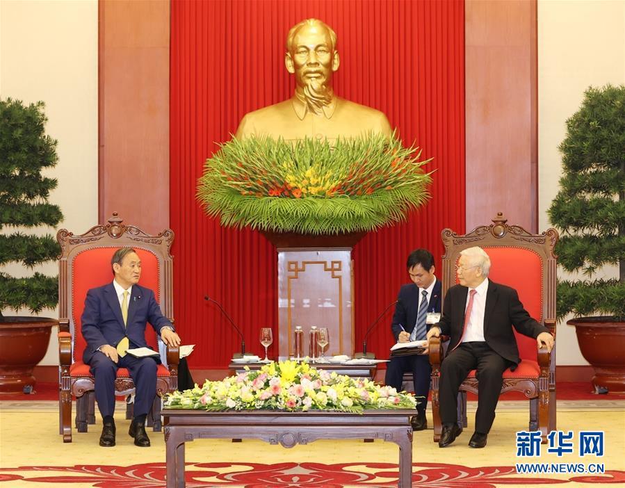 (国际)(1)日本首相访问越南